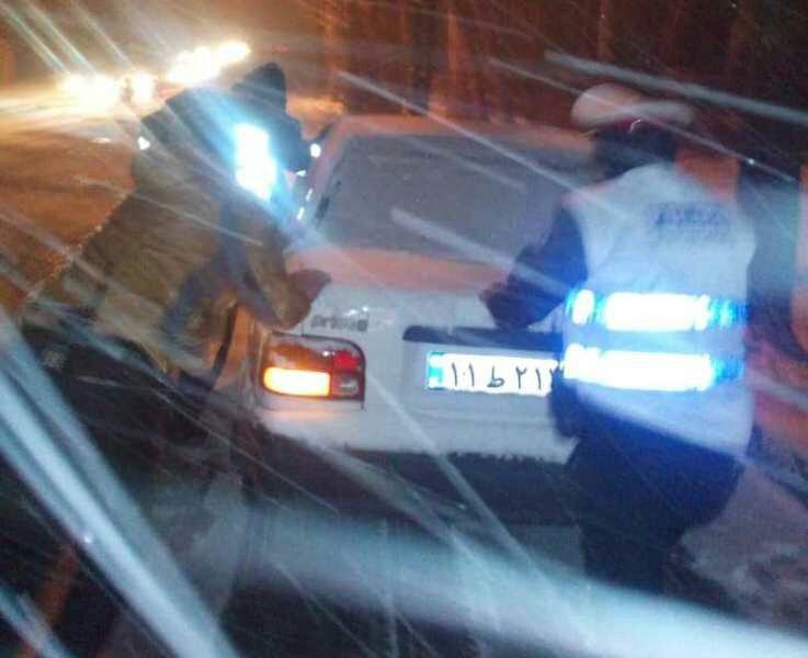 اقدام خارج از وظیفه اما ارزشمند پلیس راهور نظرآباد