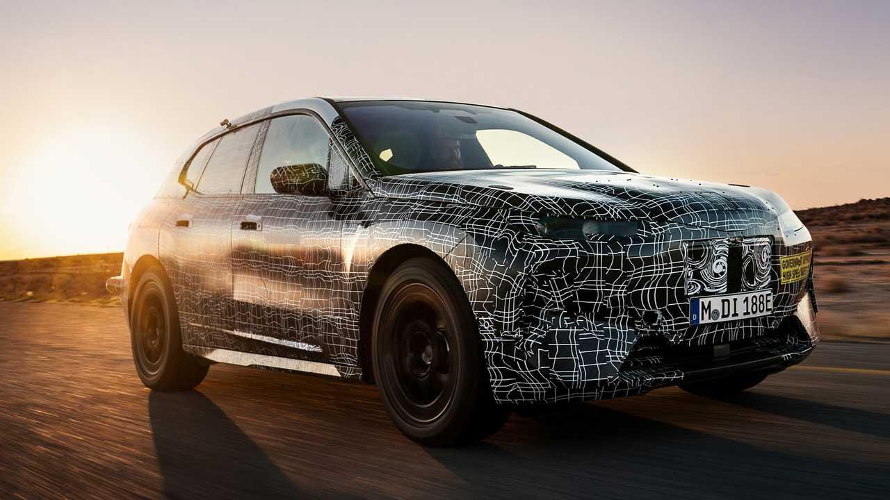 آزمایشهای سخت شرکت BMW در صحرا