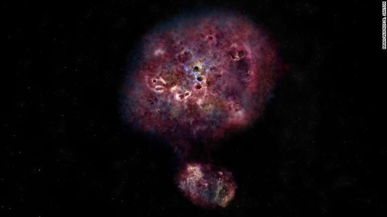 انفجار فضایی