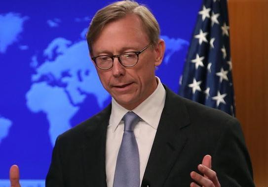 برایان هوک، نماینده ویژه وزارت خارجه آمریکا در امور ایران