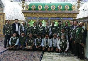 اعزام خادمان افتخاری امامزاده سید جعفر یزد به لرستان
