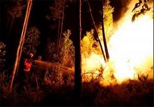 آتشسوزی گسترده در شرق روسیه