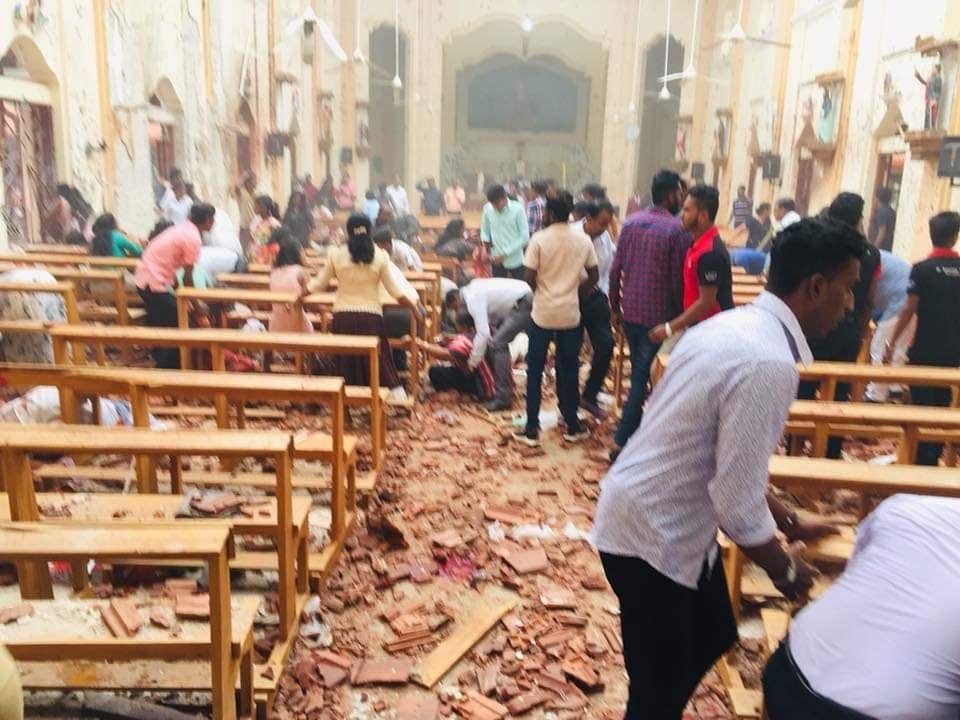 وقوع چندین انفجار در پایتخت سریلانکا