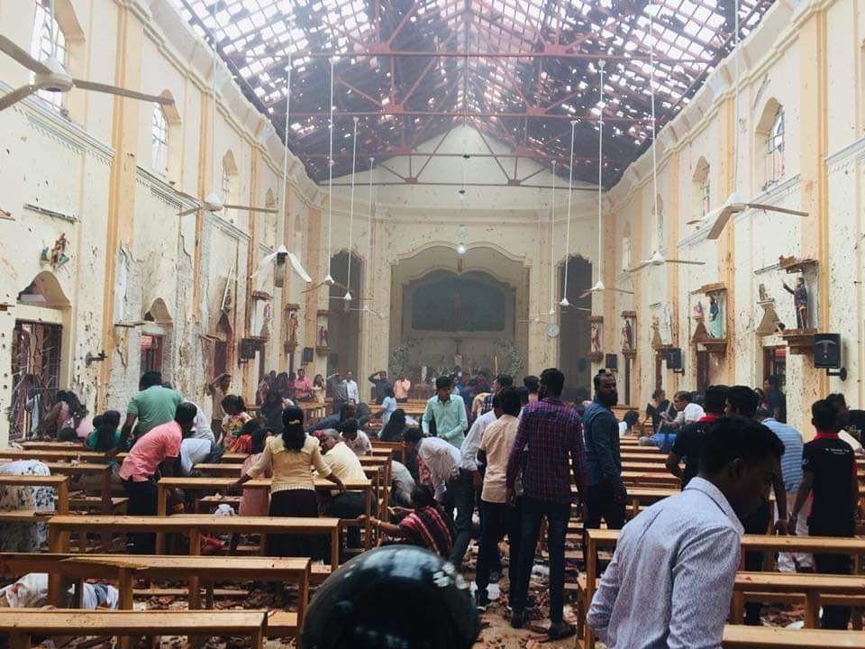 وقوع چندین انفجار در پایتخت سریلانکا/ صدها کشته و زخمی تاکنون + تصاویر و فیلم