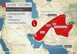 هشدار درباره دور جدید بارشهاى خطرناک در ایران
