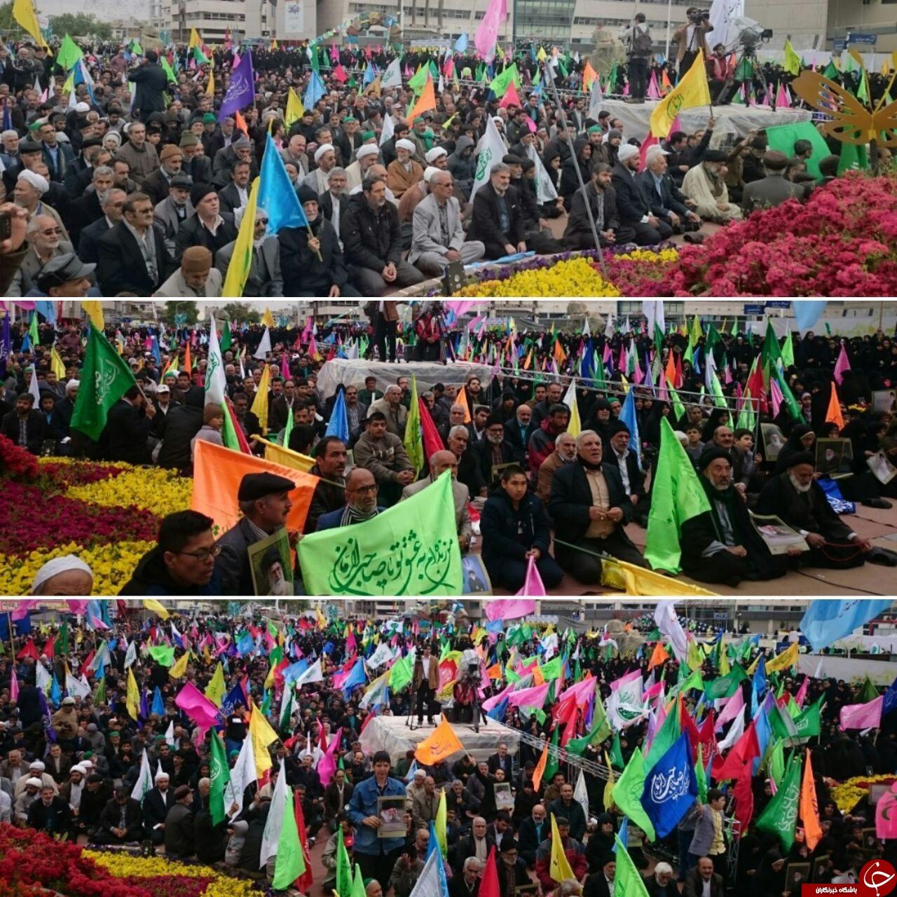 گردهمایی عظیم و پرشور منتظران ظهور در مشهد آغاز شد