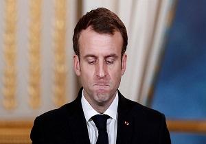 کاهش بیسابقه محبوبیت رئیسجمهور فرانسه