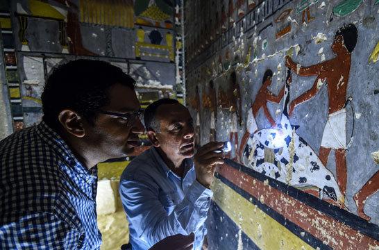 مقبر مصری با قدمت ۴۰۰۰ سال کشف شد + تصاویر