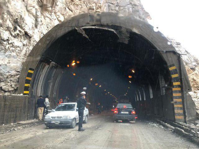 ریزش تونل در آزادراه تهران-شمال  تعداد مصدومان