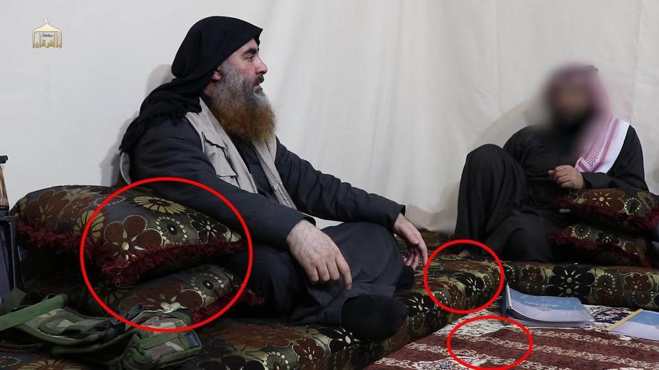گمانه زنی العربیه در خصوص محل اختفای سرکرده داعش از نوع لباس ابوبکر بغدادی+ تصاویر