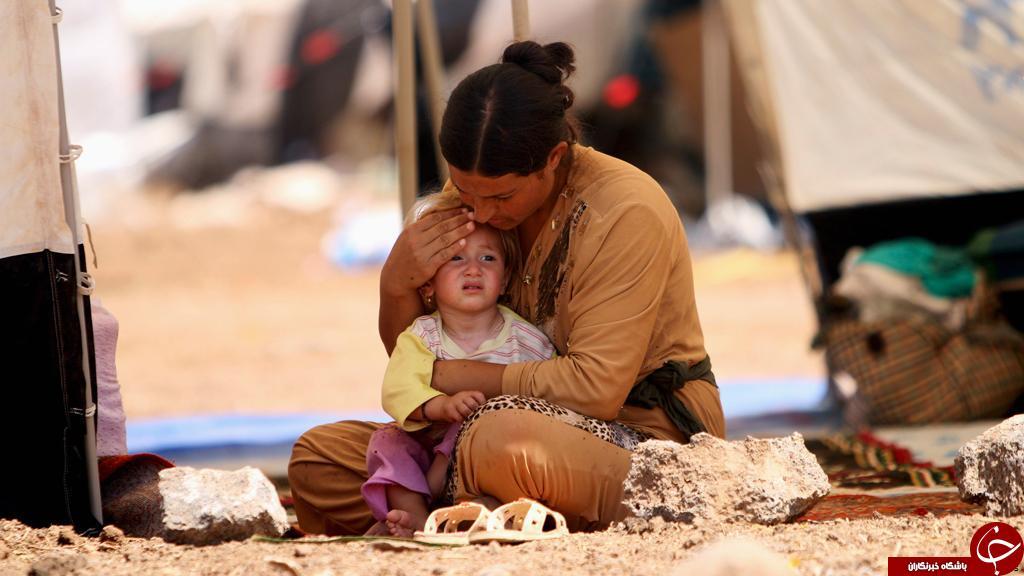 بلاتکلیفی تروریستزادهها در دامان زنان ایزدی/بردههای جنسی دیروز و مادران امروز با فرزندانشان چه کنند؟ + تصاویر