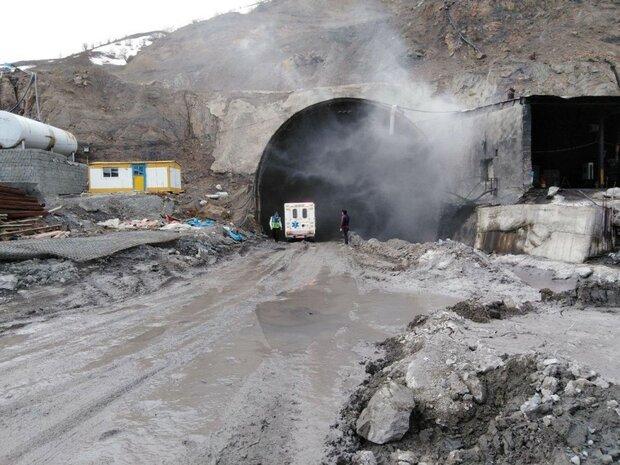 حضور مشاور فنی برای بررسی علت انفجار  تونل آزادراه تهران-شمال/انفجار تونل در حین عملیات حفاری نبوده است