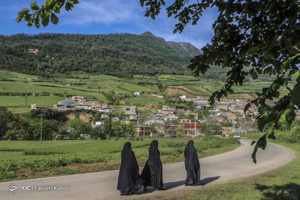نمای روستای سوسرا