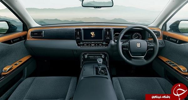خودرو لوکس امپراتور جدید ژاپن +تصاویر