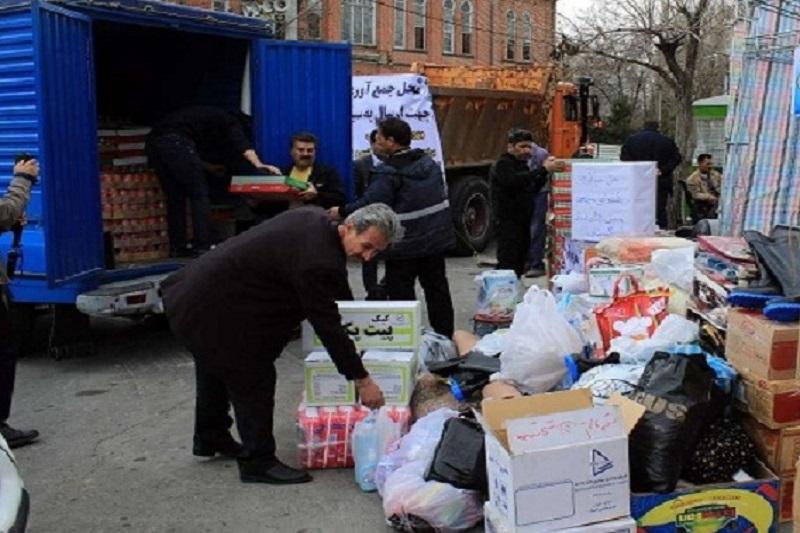 محموله کمکهای مردمی استان آذربایجان غربی وارد ایلام شد.