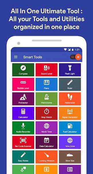 دانلود Smart Tools v1.1.42 – برنامه ابزارهای مهندسی و دانشجویی مختلف برای اندروید