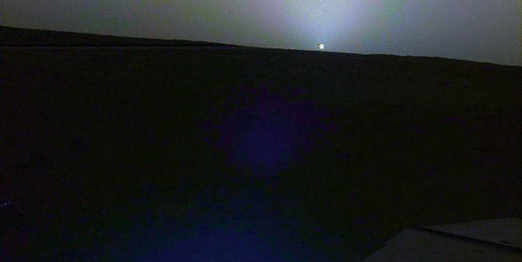 تصاویر باورنکردنی از طلوع خورشید از سیاره سرخ