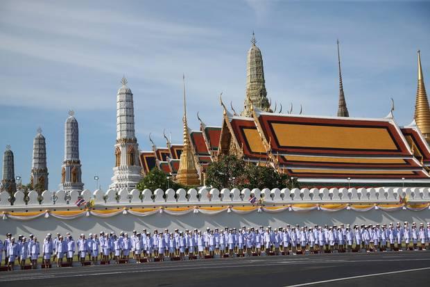 پادشاه جدید تایلند با قدرت بیشتر تاجگذاری کرد