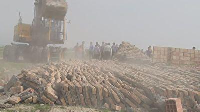 تخریب ۳۰ مورد تصرف در اراضی کشاورزی گرگان