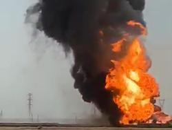 حادثه خط لوله ۴۲ اینچ نفت صادراتی امیدیه تلفاتی نداشت