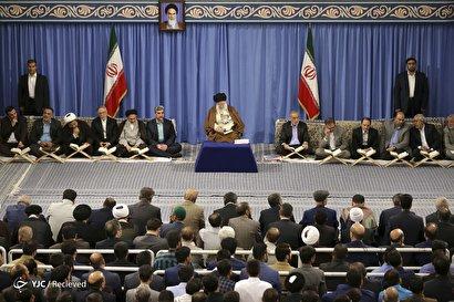 محفل انس با قرآن در حضور رهبر انقلاب