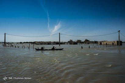 مچریه، روستایی در زیر آب