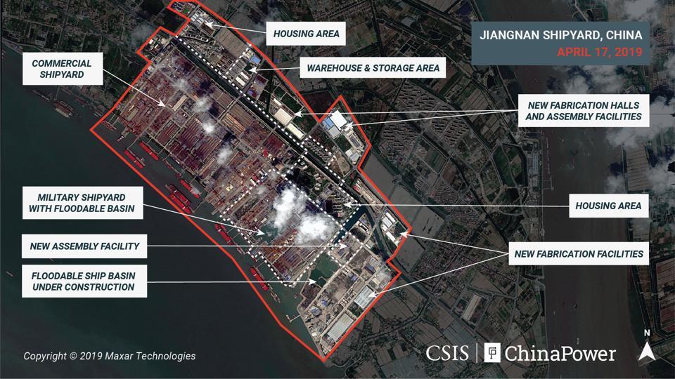 رویترز: چین در حال ساخت یک ناو هواپیمابر بسیار بزرگ است+تصویر