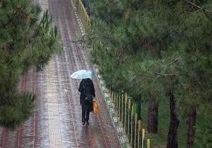 سامانه بارشی وارد همدان می شود
