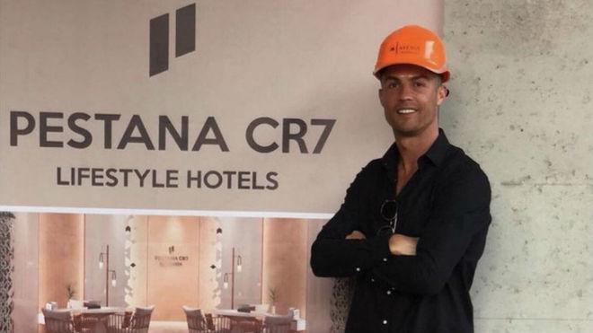 رونالدو شعبات هتل هایش را گسترش میدهد