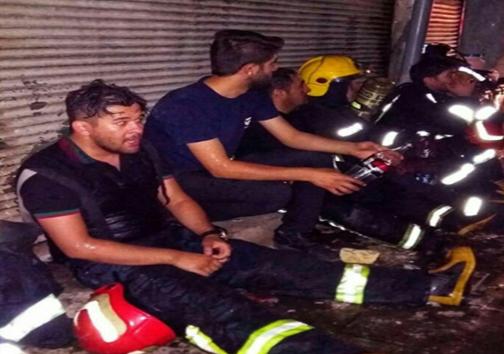 آتش سوزی بازار تبریز بهطور کامل مهار شد/ آمار مصدومان آتش سوزی به ۲۹ نفر رسید+تصاویر و فیلم