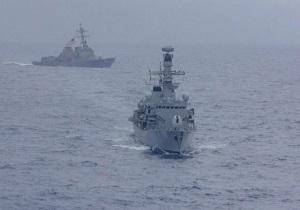 مانور دریایی آمریکا و ژاپن در دریای چین جنوبی علیرغم مخالفتهای پکن
