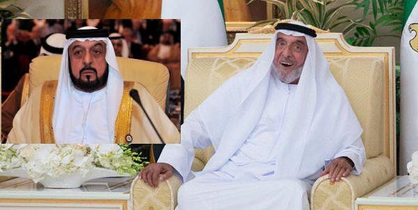 چهره متفاوت رئیس امارات در برابر دوربینها پس از یک سال غیبت