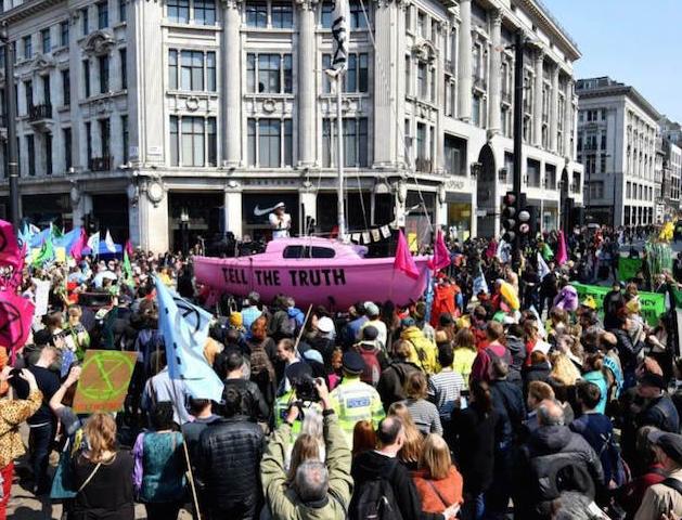 هفتمین روز اعتراضات به سیاستهای زیستمحیطی دولت انگلیس