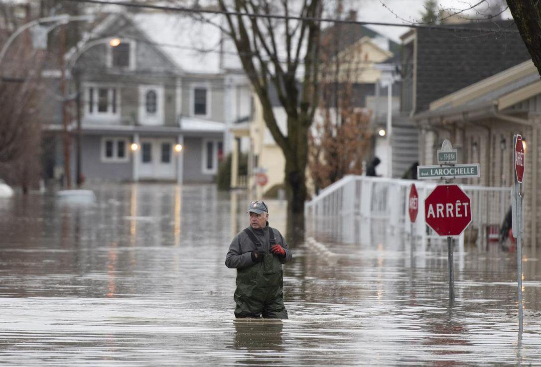 سیل در کانادا/ افزایش نگرانیها در خصوص تکرار فاجعه سال ۲۰۱۷