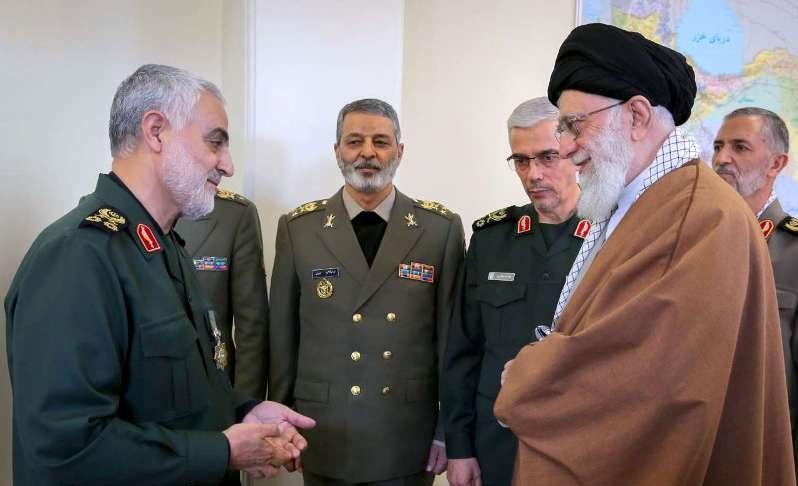 ستونهای نیروهای مسلح ایران چه کسانی هستند؟