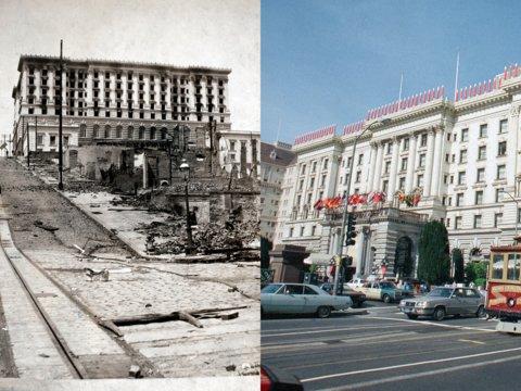 چه ساختمان در برابر جهان پس از یک فاجعه ساخته شدند