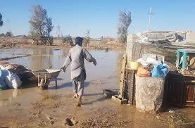 روستای ارگ میر در محاصره سیل / دسترسی به روستا قطع شد
