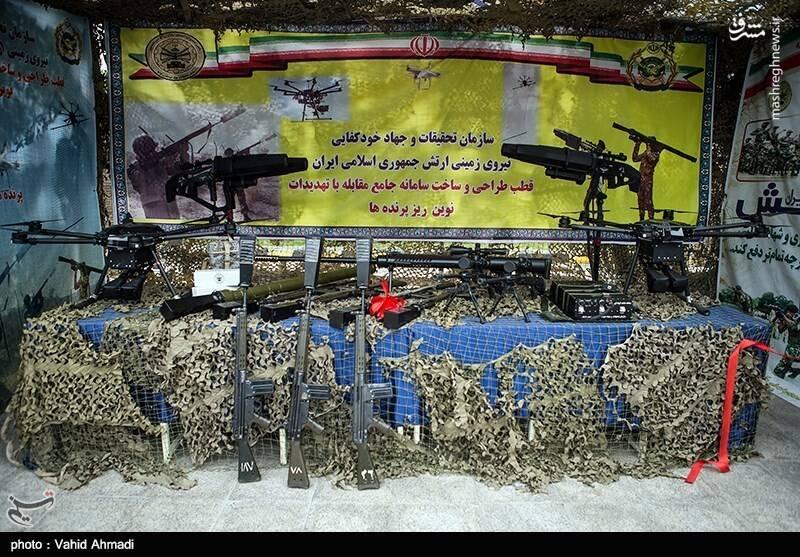 طرح نوین نیروهای مسلح در مواجهه با تهدیدات جدید/از اخلالگر الکترونیکی تا پرتاب تور برای مقابله با ریزپرندهها/ «ژ-3» های ارتش به شکار پهپاد می روند+عکس