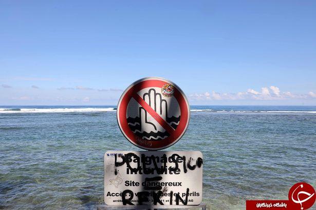 سرانجام شناکردن توریست در منطقه ممنوعه!
