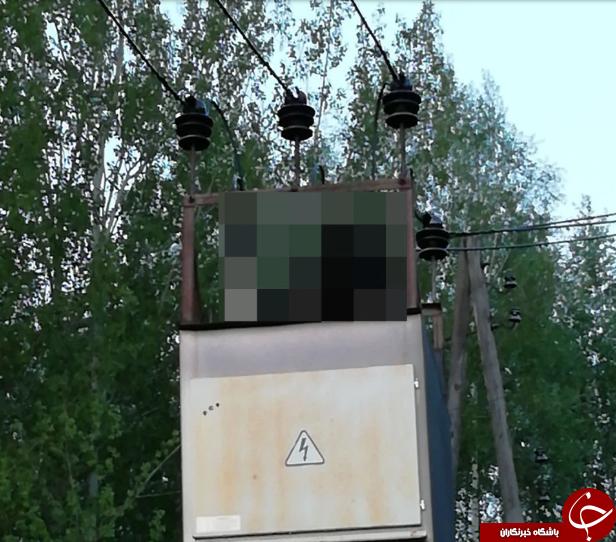 سلفی مرگبار دختر جوان بر بالای ترانسفورماتور برق! + تصاویر/////