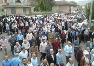 حضور پرشور مردم گلستان در حمایت از بیانیه شورای ملی امنیت