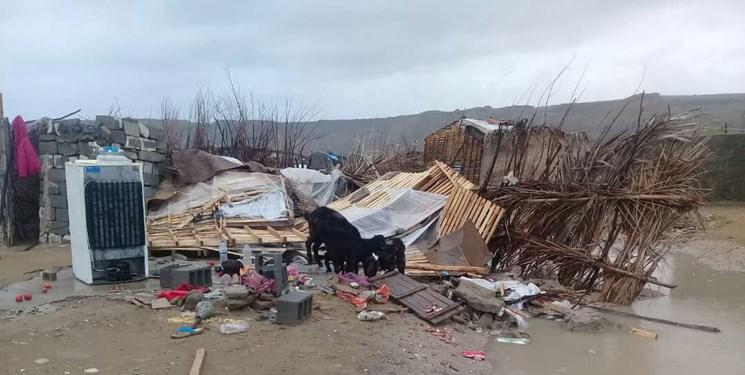 خسارت سیل به ۵ خانه در روستای عبا قشلاقی گرمی