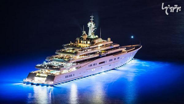 کشتیهای شخصی زیبا و جذابی که سلبریتیها سوار میشوند