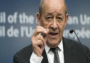 وزیر امور خارجه فرانسه: رویارویی کشورها خطر «بینظمی بینالمللی» را در پی دارد