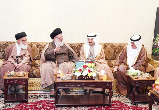 بیانیه دولت بحرین علیه یکی از بزرگترین مراجع دینی این کشور