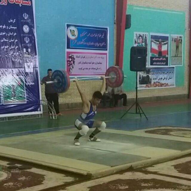 زاهدان میزبان رقابتهای قهرمانی وزنه برداری کشور شد
