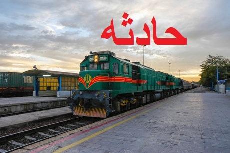 برخورد مرگبار قطار مسافر بری با عابر در زنجان