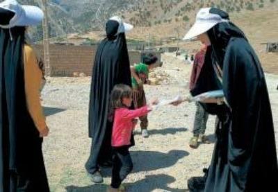 خدمات گروههای جهادی آرامشی است بر آلام سیلزدگان خوزستان