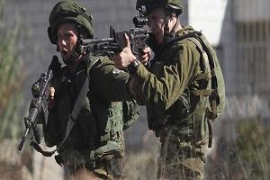 زخمی شدن سه فلسطینی در یورش نظامیان صهیونیست به تظاهرکنندگان
