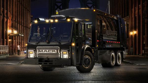 کامیون الکتریکی حمل زباله ماک جایگزینی مناسب برای کامیونهای قدیمی +عکس